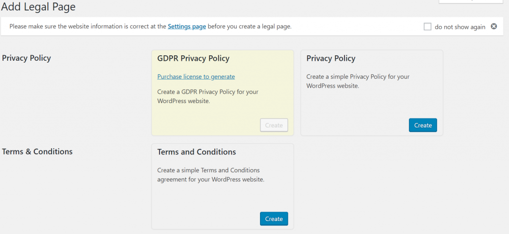 Learn how to add a Terms and Conditions and Privacy Policy with WP AutoTerms